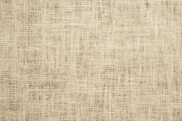 Lichtbruin weven canvas stof textuur achtergrond