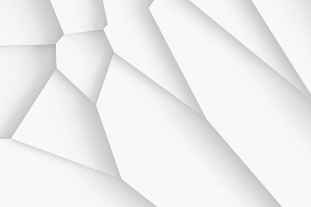 Lichte digitale textuur van blokken van verschillende grootte met verschillende vormen die boven elkaar uittorenen en schaduwen werpen 3d illustratie