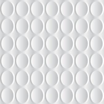 Lichte halftoonachtergrond voor creatieve weblay-out. witte en grijze 3d-vector abstracte schalen achtergrond