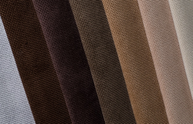 Lichte kleuren velours textielstalen .. stof textuur achtergrond