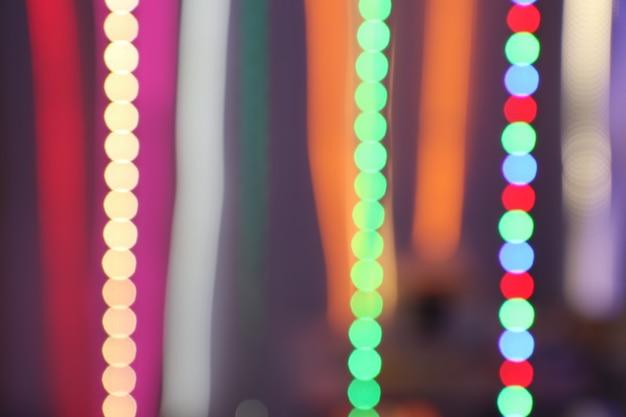 Lichte onscherpe achtergrond