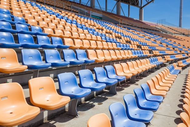 Lichte stadionstoel