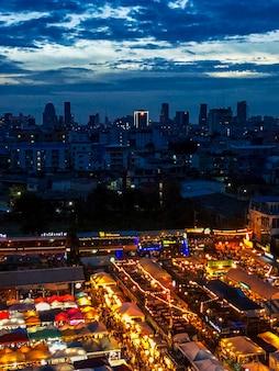 Lichten van de stad