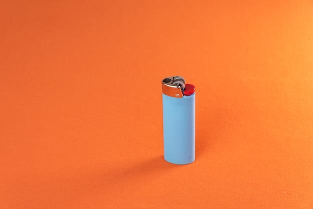 Lichter op de oranje achtergrond - macro detail