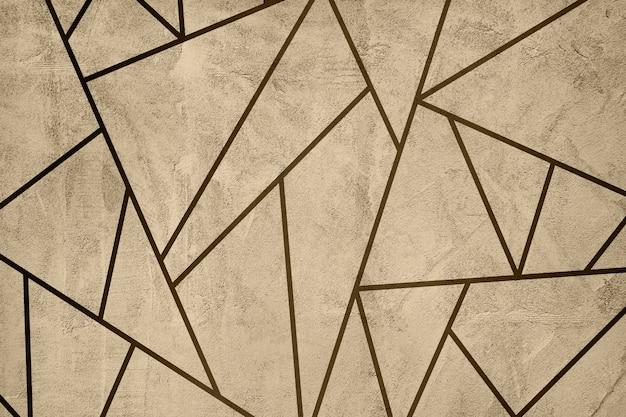 Lichtgele mozaïektegels getextureerde achtergrond
