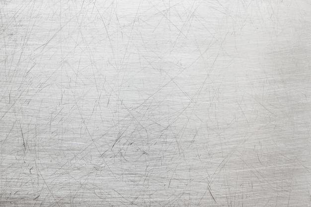 Lichtgrijze metalen textuur, element van ijzeren plaat