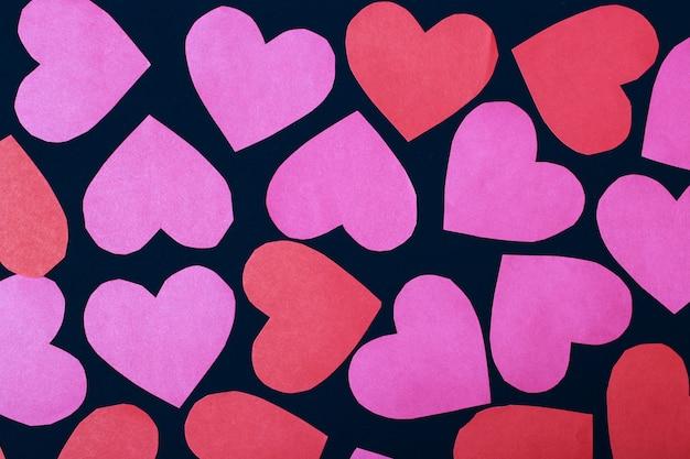 Liefde concept voor moederdag en valentijnsdag.