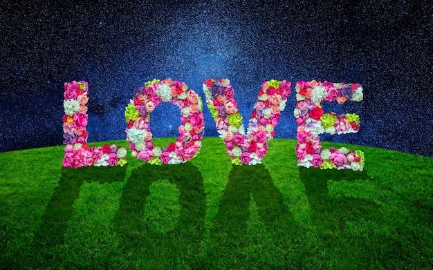 Liefde met bloemen