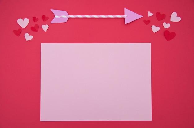 Liefdesbrief - st. valentine concept