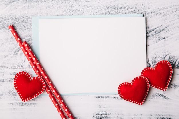 Liefdesbrief voor valentijnsdag