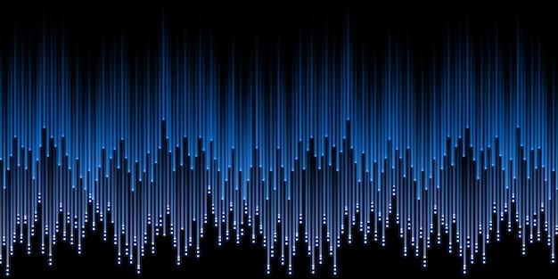 Lijn beweging laserstraal schittering van licht 3d illustratie