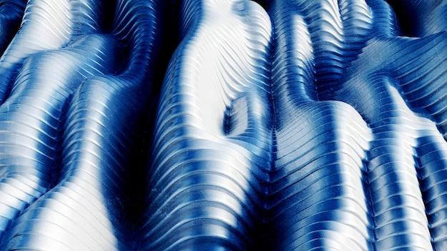 Lijn grunge textuur achtergrond. 3d-afbeelding, 3d-rendering.