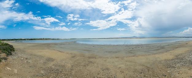 Limassol salt lake ligt in de buurt van de stad.