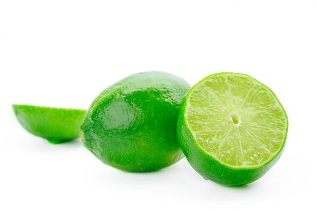 Lime geïsoleerd