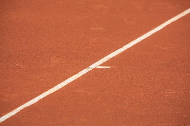 Limietlijn voor tennisbanen