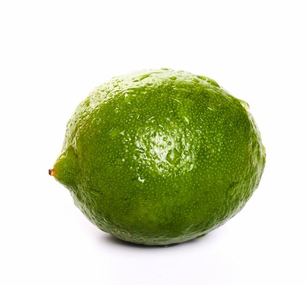 Limoen op tafel