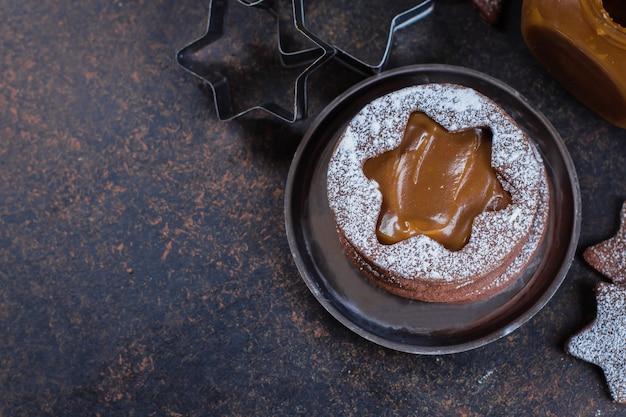 Linzer chocoladekoekjes