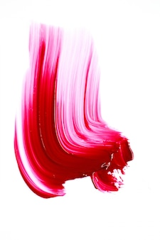 Lippenstift felrode kleur.