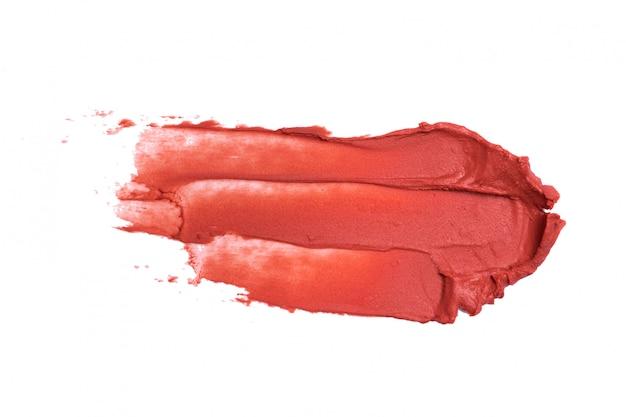 Lippenstift op wit