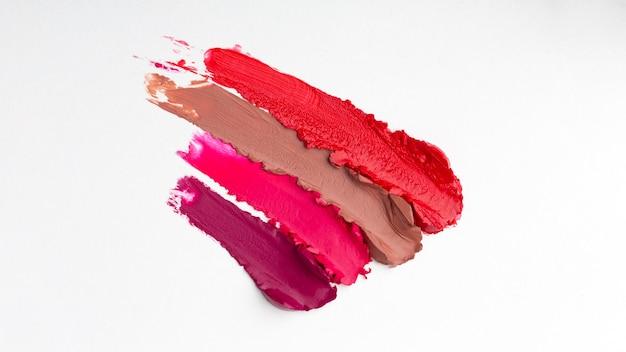 Lippenstift tinten arrangement