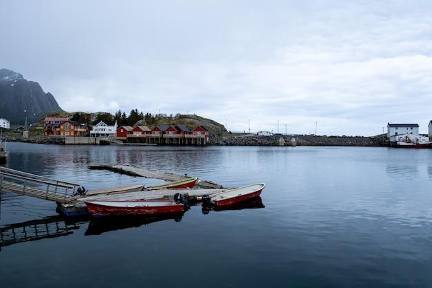 Lofoten noorwegen dorp