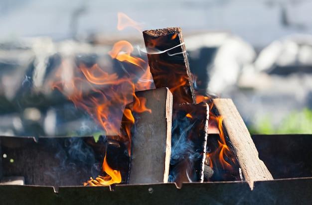 Logboeken branden
