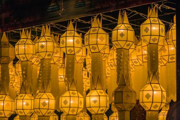 Loi krathong lantaarns