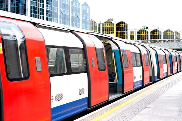 Londen ondergronds metrostation