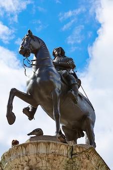 Londen trafalgar square king charles i