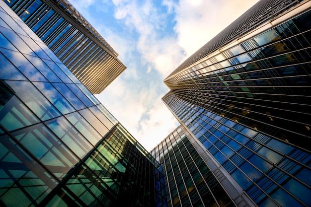 Londense kantoor skyscrapper gebouw