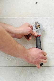 Loodgieter ventielsets voor handdoekverwarmer