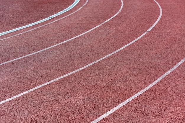Loopband voor atletenachtergrond