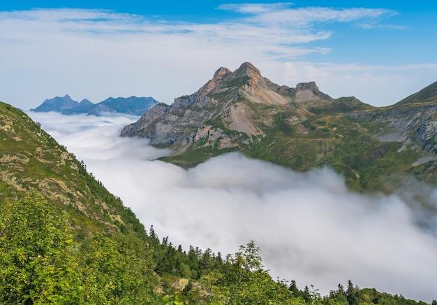 Lopen op wolken in de pyreneeën