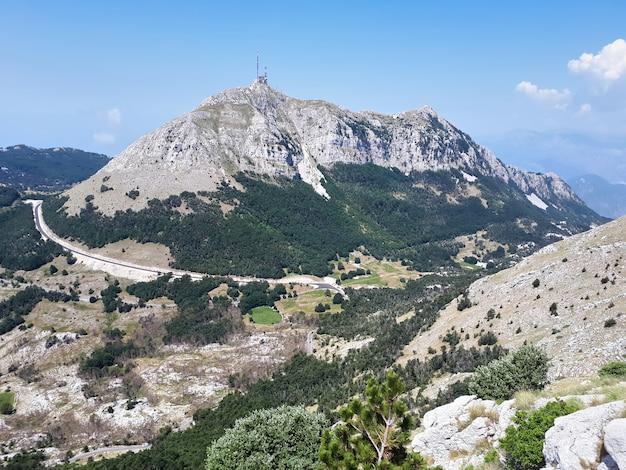 Lovcenberg in montenegro