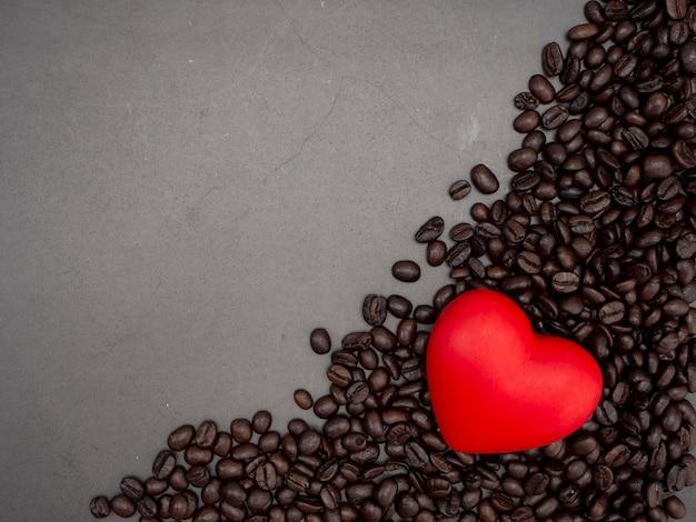 Love hart valentijnsdag banner achtergrond