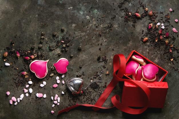 Love valentine thee wenskaart