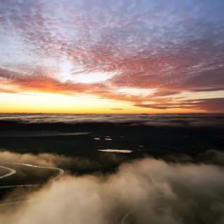 Lucht landschap