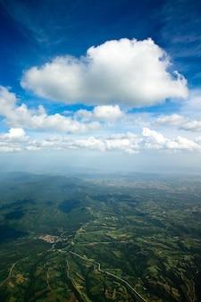 Lucht lucht en wolken achtergrond