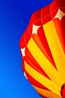 Luchtballon close up