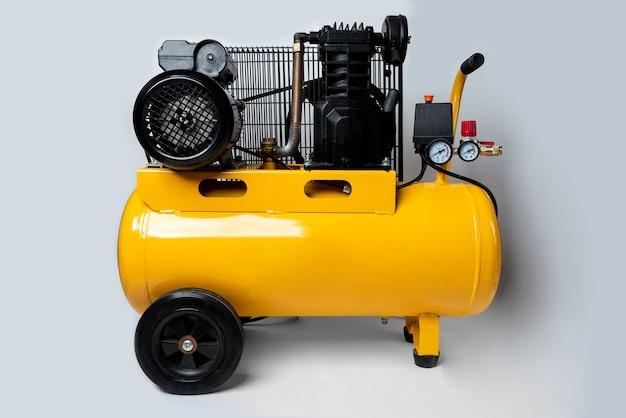 Luchtcompressor geïsoleerd