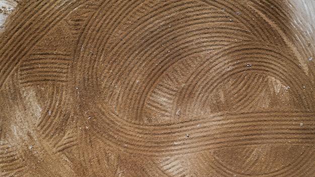 Luchtfoto bovenaanzicht van bodemtextuur