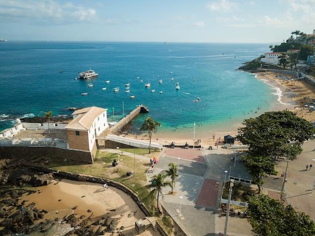 Luchtfoto drone weergave van porto da barra