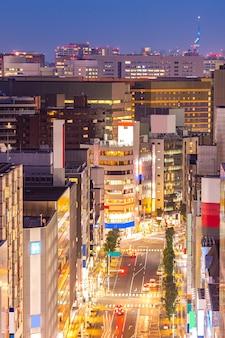 Luchtfoto hakata fukuoka japan