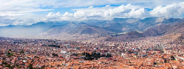 Luchtfoto van cusco