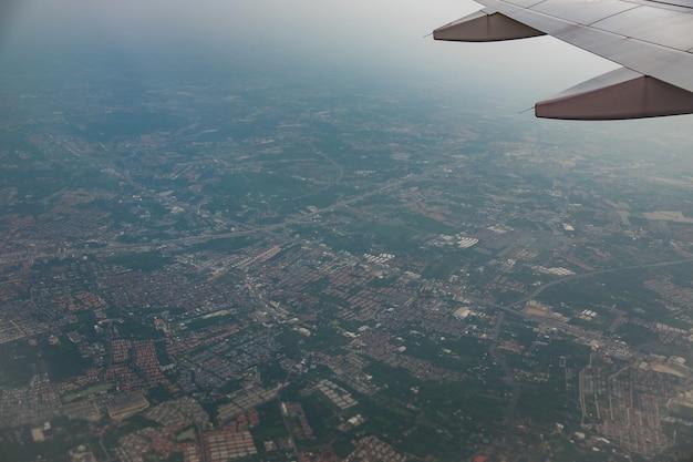 Luchtfoto van de stad bangkok