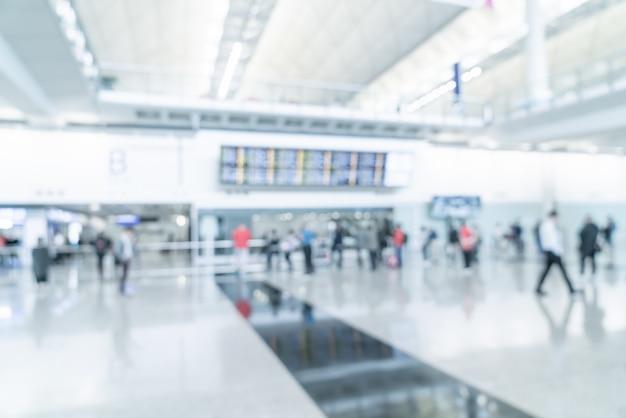 Luchthaven vervagen