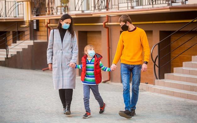 Luchtvervuiling concept. preventie coronavirus. coronavirus quarantaine.