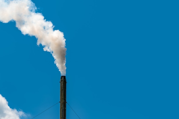 Luchtvervuiling door fabriek