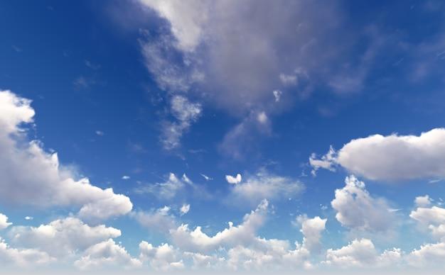 Luchtwolken.