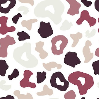 Luipaard huid naadloze patroon. cheetah bont behang.